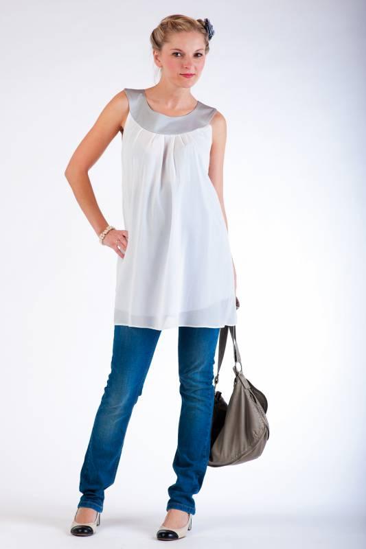 Těhotenské kalhoty BEBEFIELD - California Jeans - Velikost 40