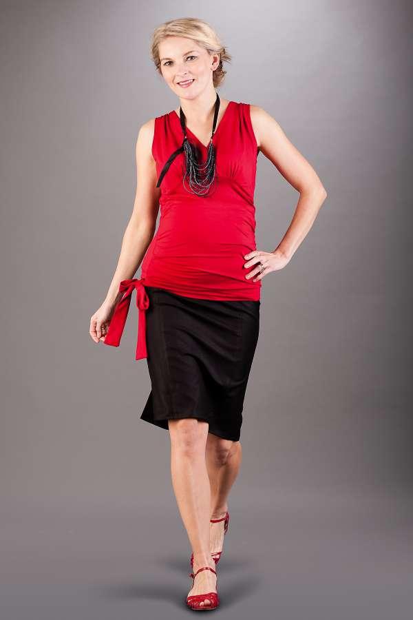 Těhotenská sukně BEBEFIELD - Linda Black