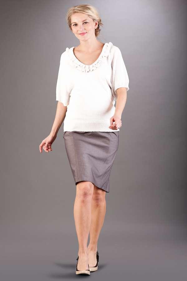 Těhotenská sukně BEBEFIELD - Linda Grey