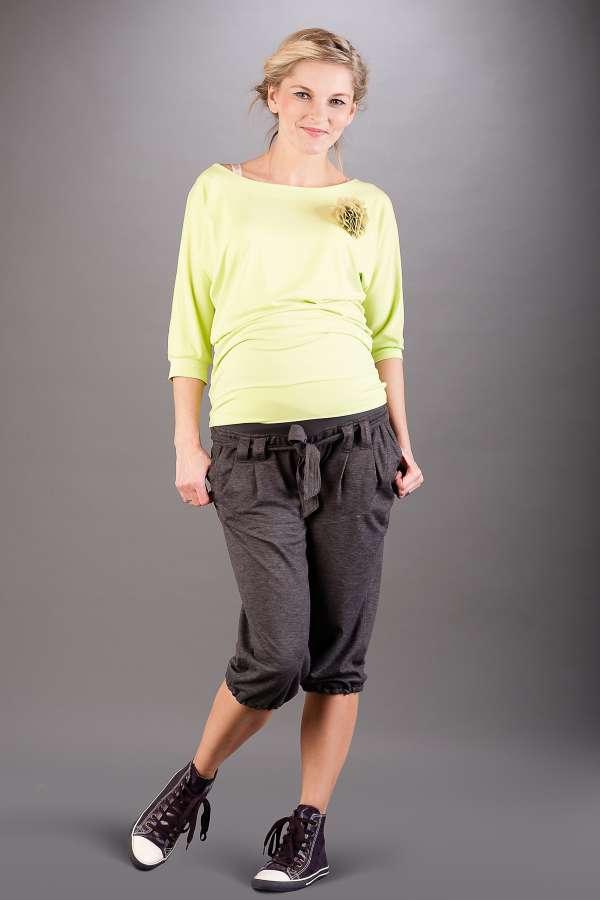 Těhotenské kalhoty BEBEFIELD - Borneo