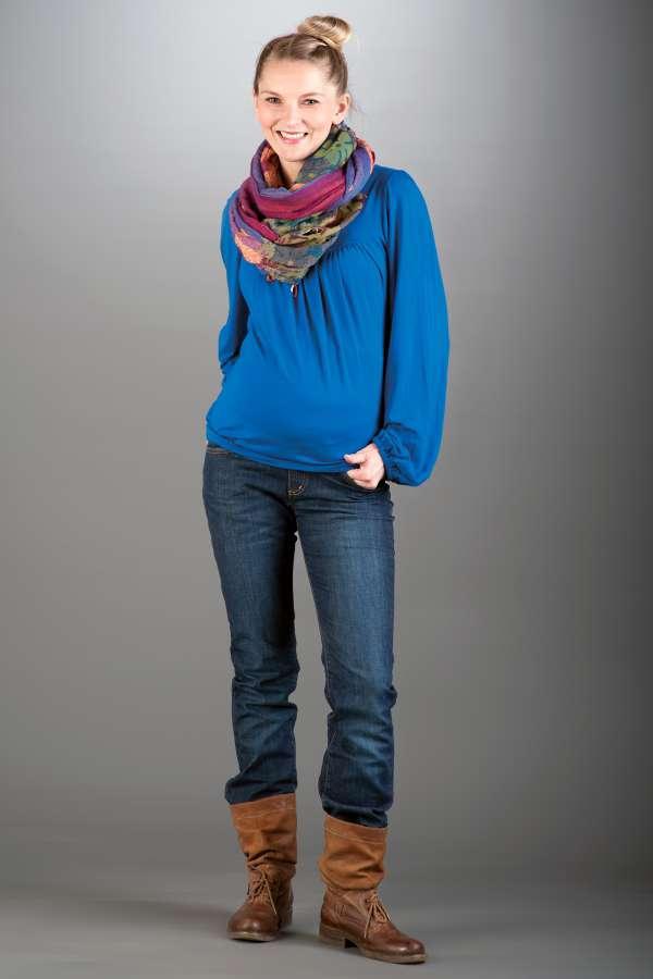 Těhotenské kalhoty BEBEFIELD - Lisbon Jeans