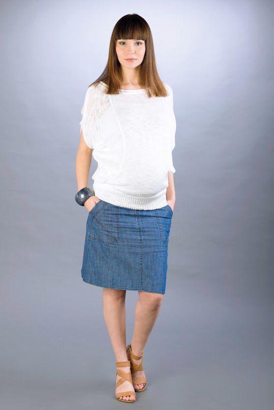 Těhotenská sukně BEBEFIELD - Avy