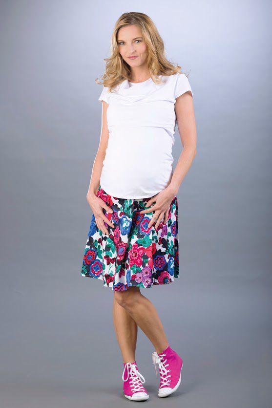 Těhotenská sukně BEBEFIELD - Celia