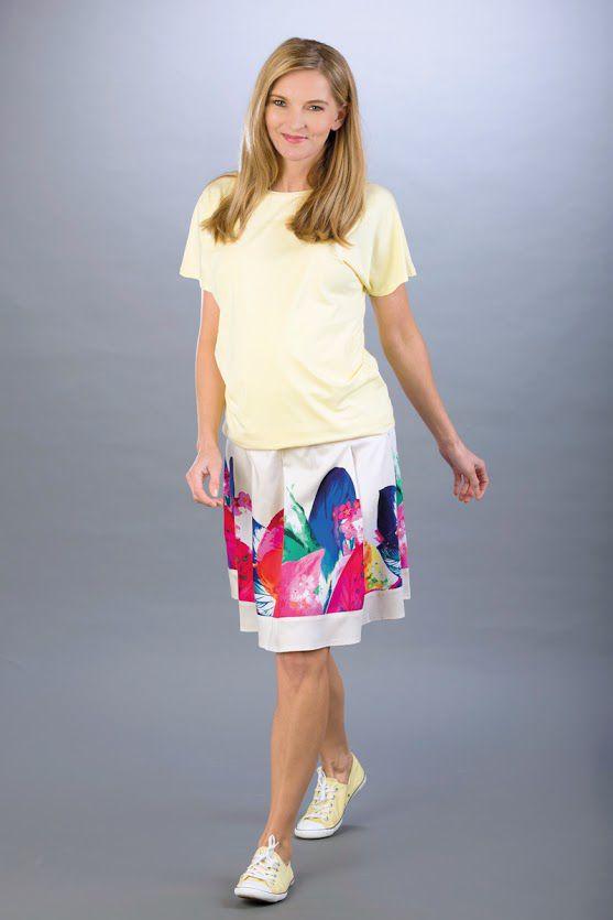Těhotenská sukně BEBEFIELD - Chloe