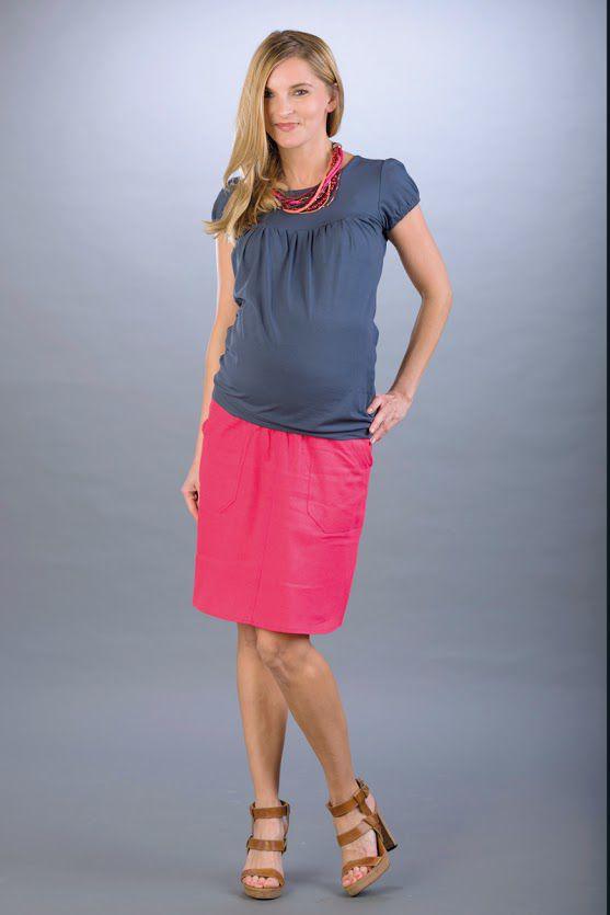 Těhotenská sukně BEBEFIELD - Lori Coral