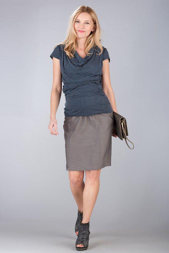Těhotenská halenka BEBEFIELD - Tina Dots