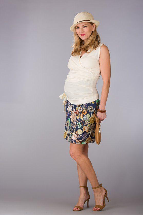 Těhotenská sukně BEBEFIELD - Chantal