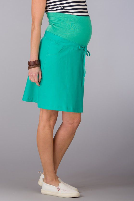 Těhotenská sukně BEBEFIELD - Napoli Esmerald