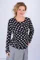 Zvětšit fotografii - Těhotenská halenka BEBEFIELD - Rose Black & White