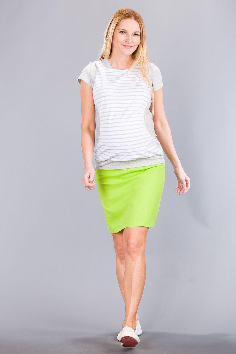 Těhotenská sukně BEBEFIELD - Celine Lemon