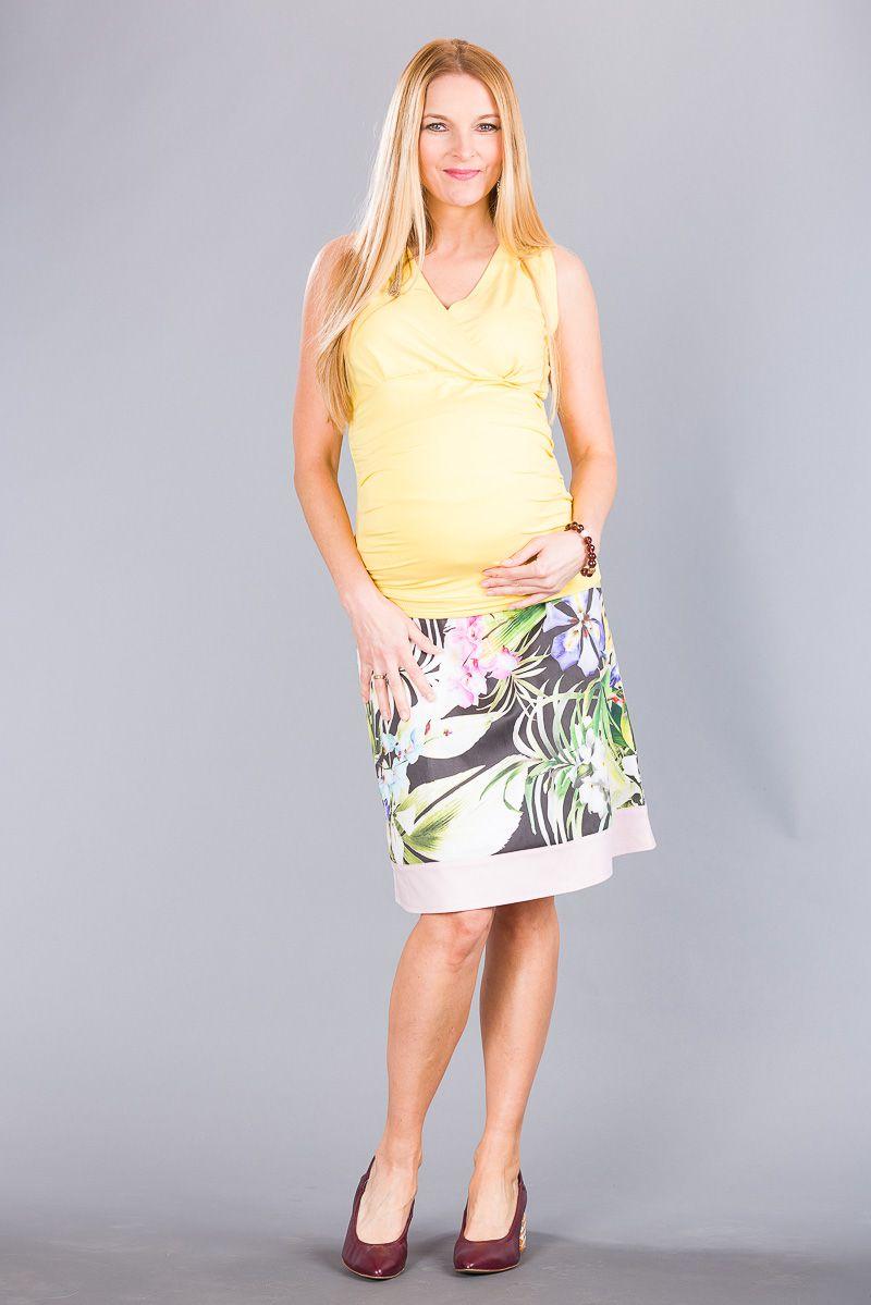 Těhotenská sukně BEBEFIELD - Dalia