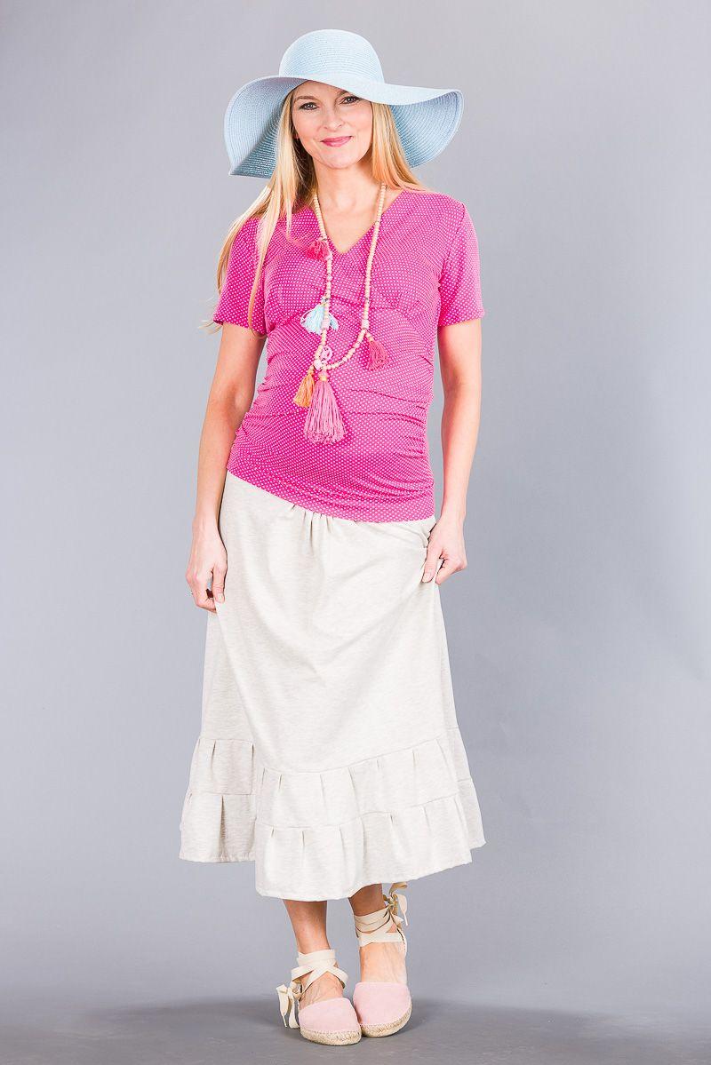 Těhotenská sukně BEBEFIELD - Dora Spa