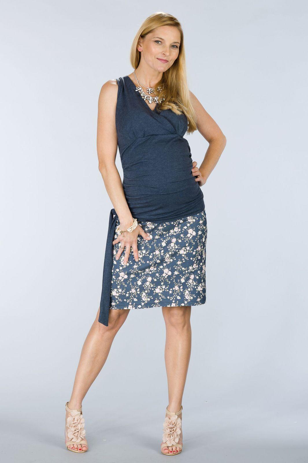 Těhotenská sukně BEBEFIELD - Frankie Jeans