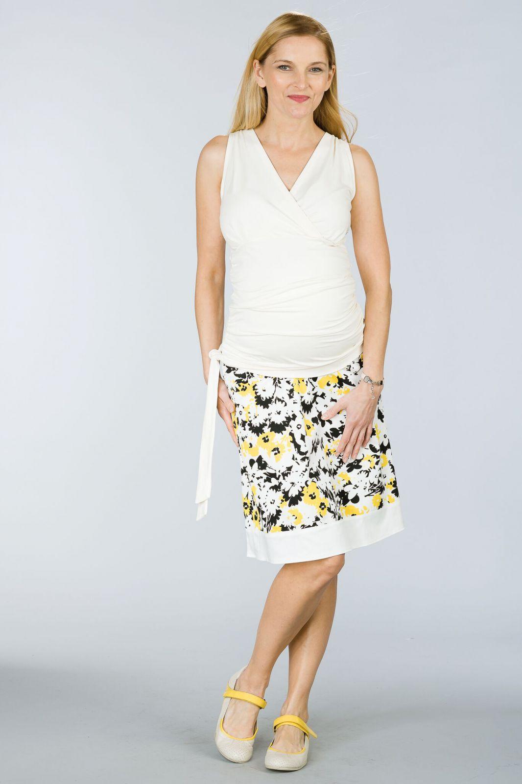 Těhotenská sukně BEBEFIELD - Michela