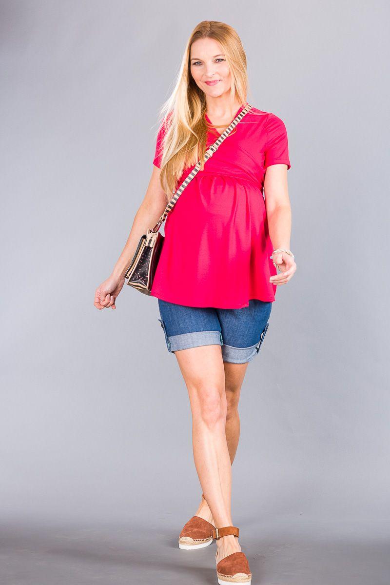 Těhotenské kalhoty BEBEFIELD - Malta Jeans