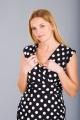 Těhotenské šaty BEBEFIELD - Giulia Black