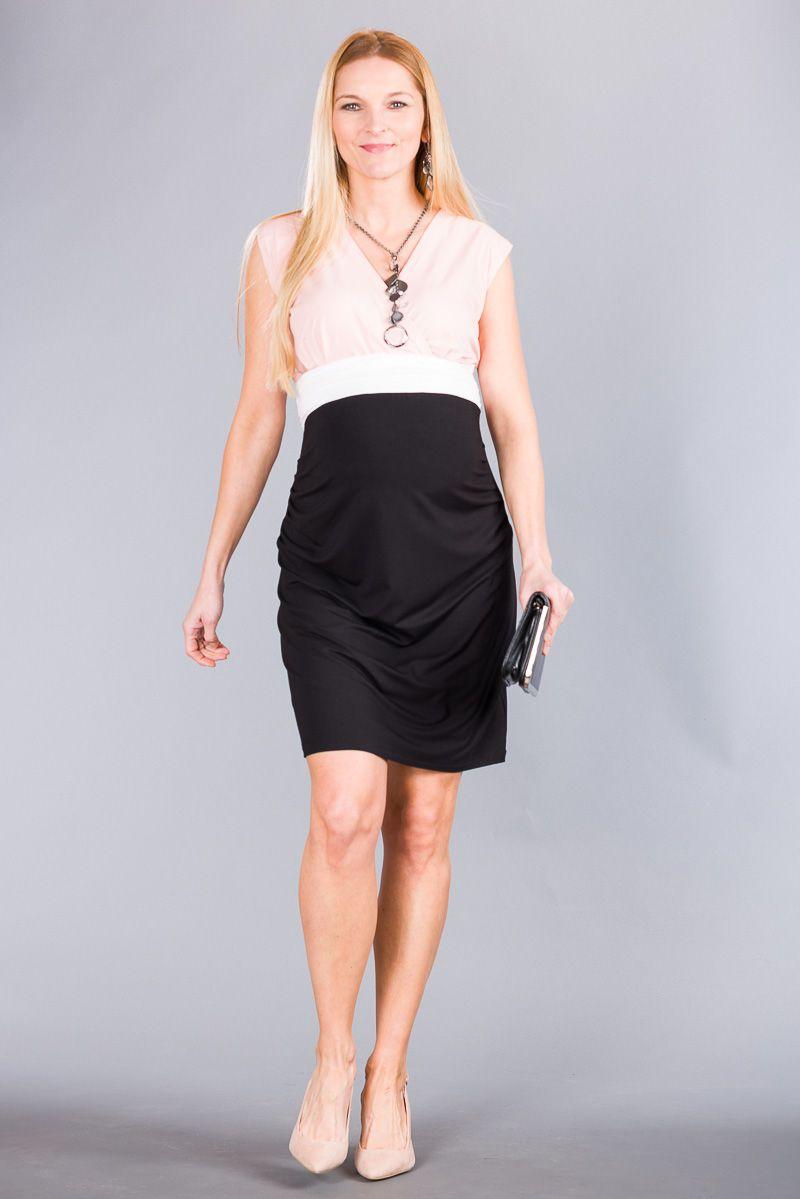 Těhotenské šaty BEBEFIELD - Giulia Rose