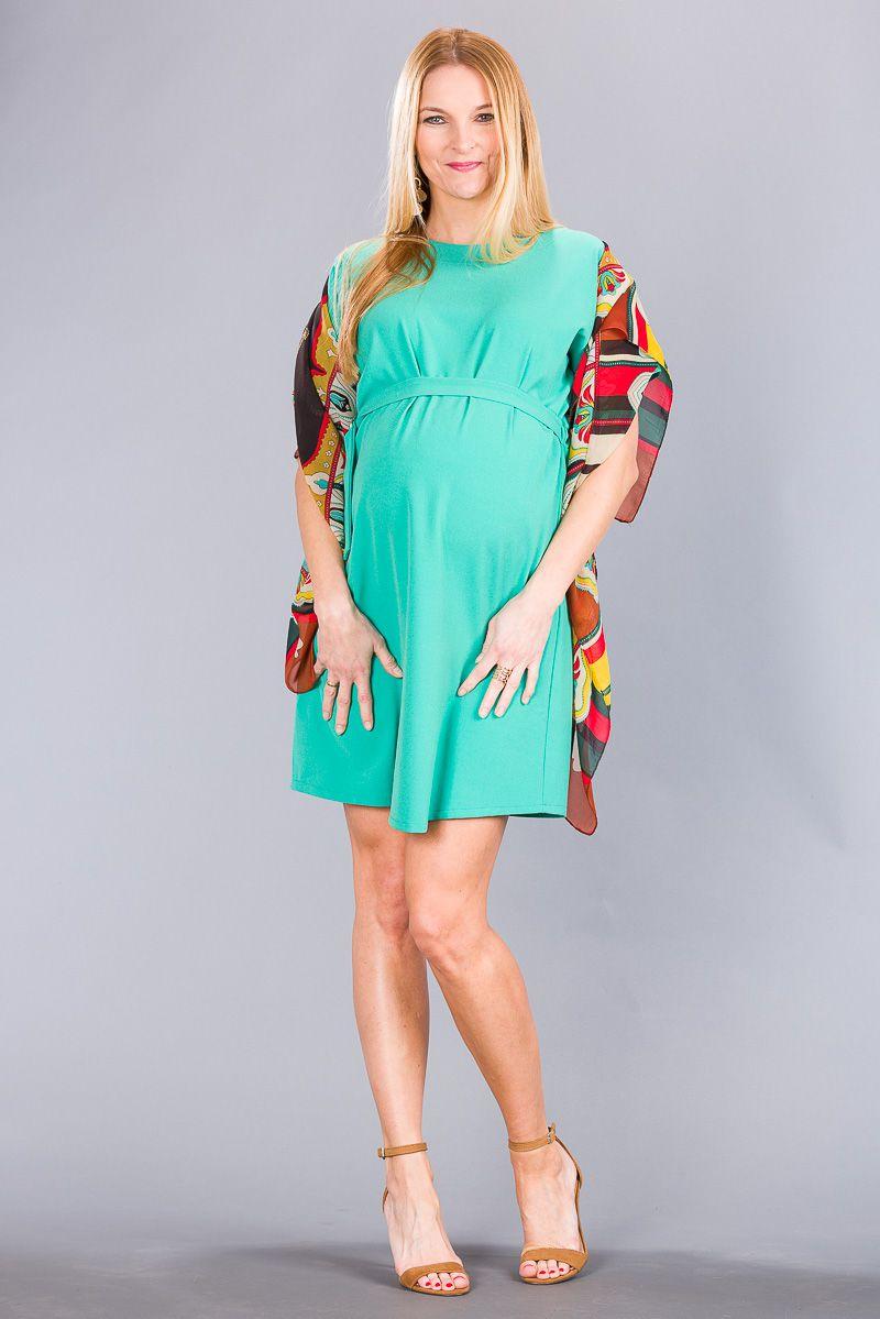 Těhotenské šaty BEBEFIELD - Gloria Green