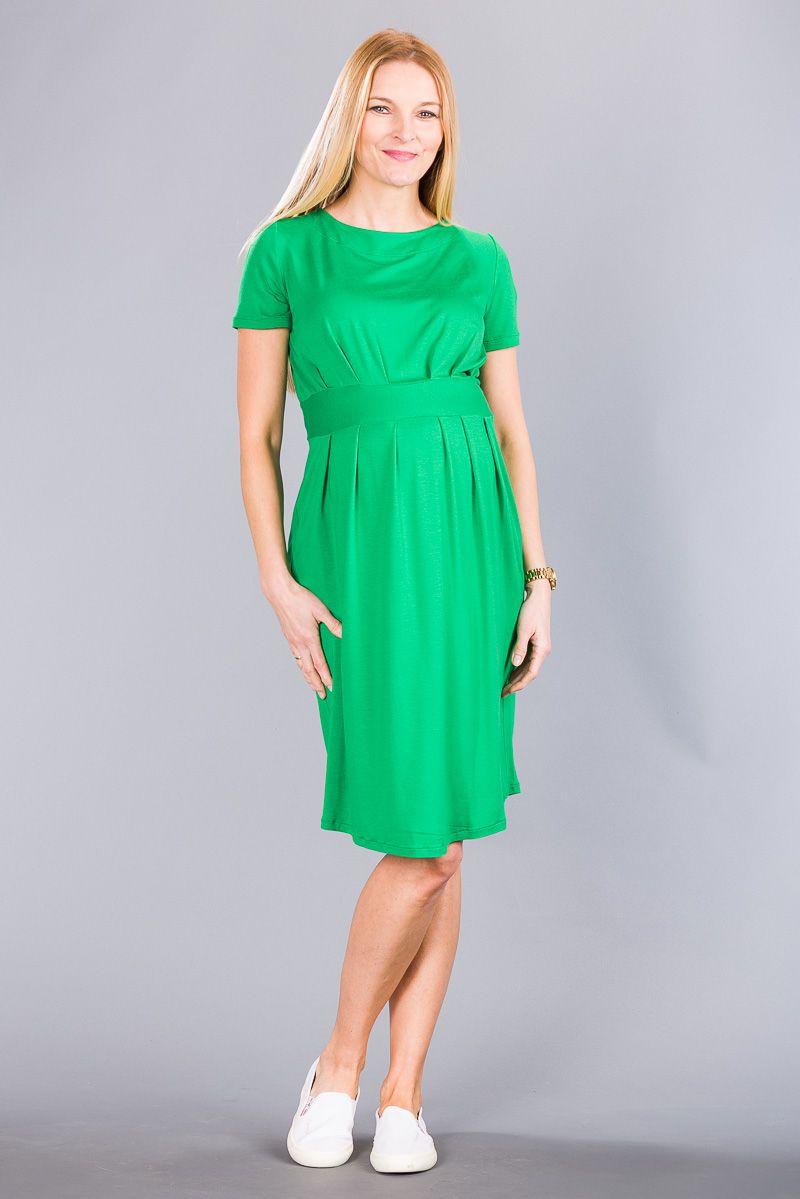 Těhotenské šaty BEBEFIELD - Grace Green