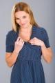 Těhotenské šaty BEBEFIELD - Pina Dots