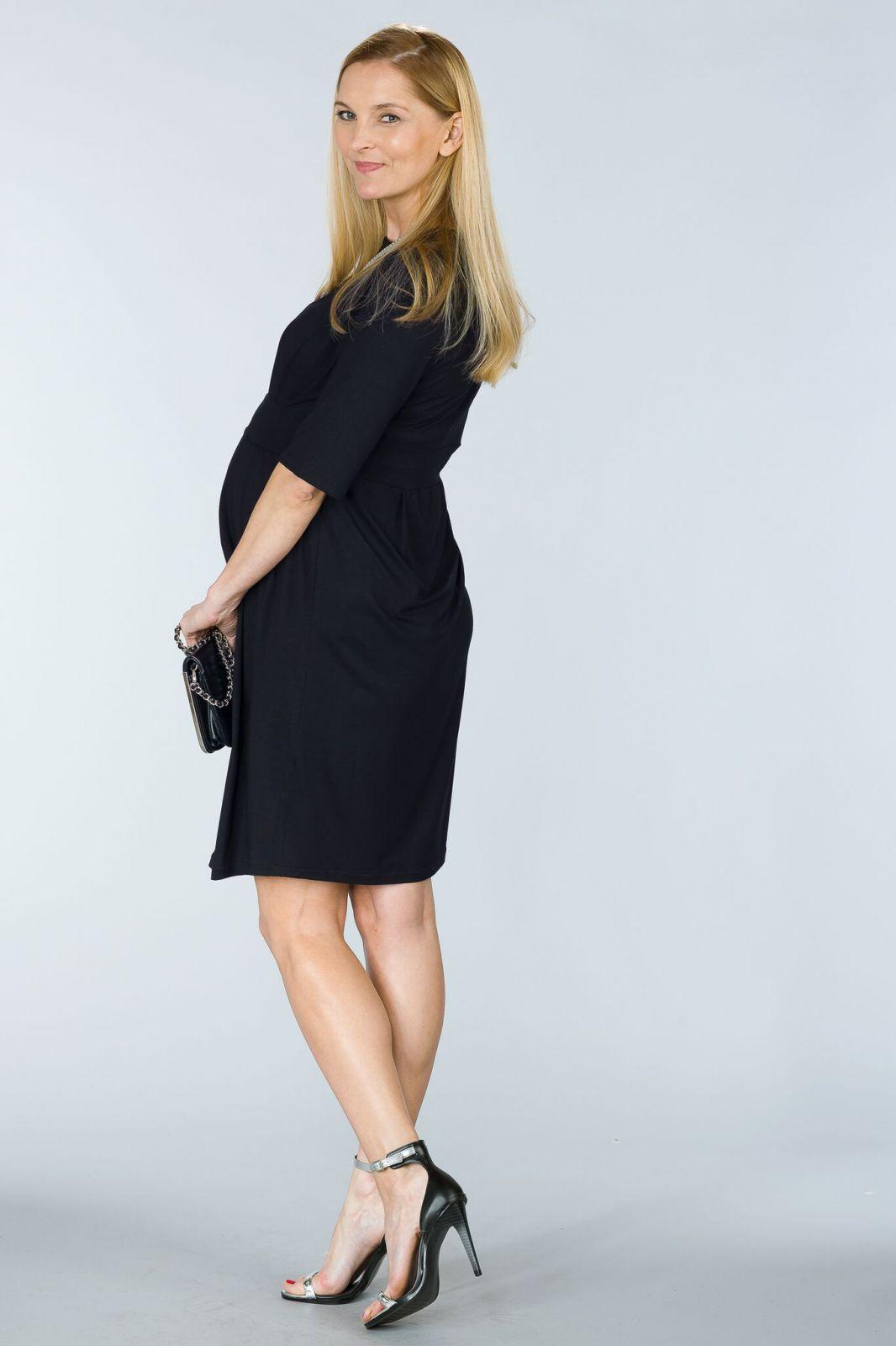 Těhotenské šaty BEBEFIELD - Valentina Black