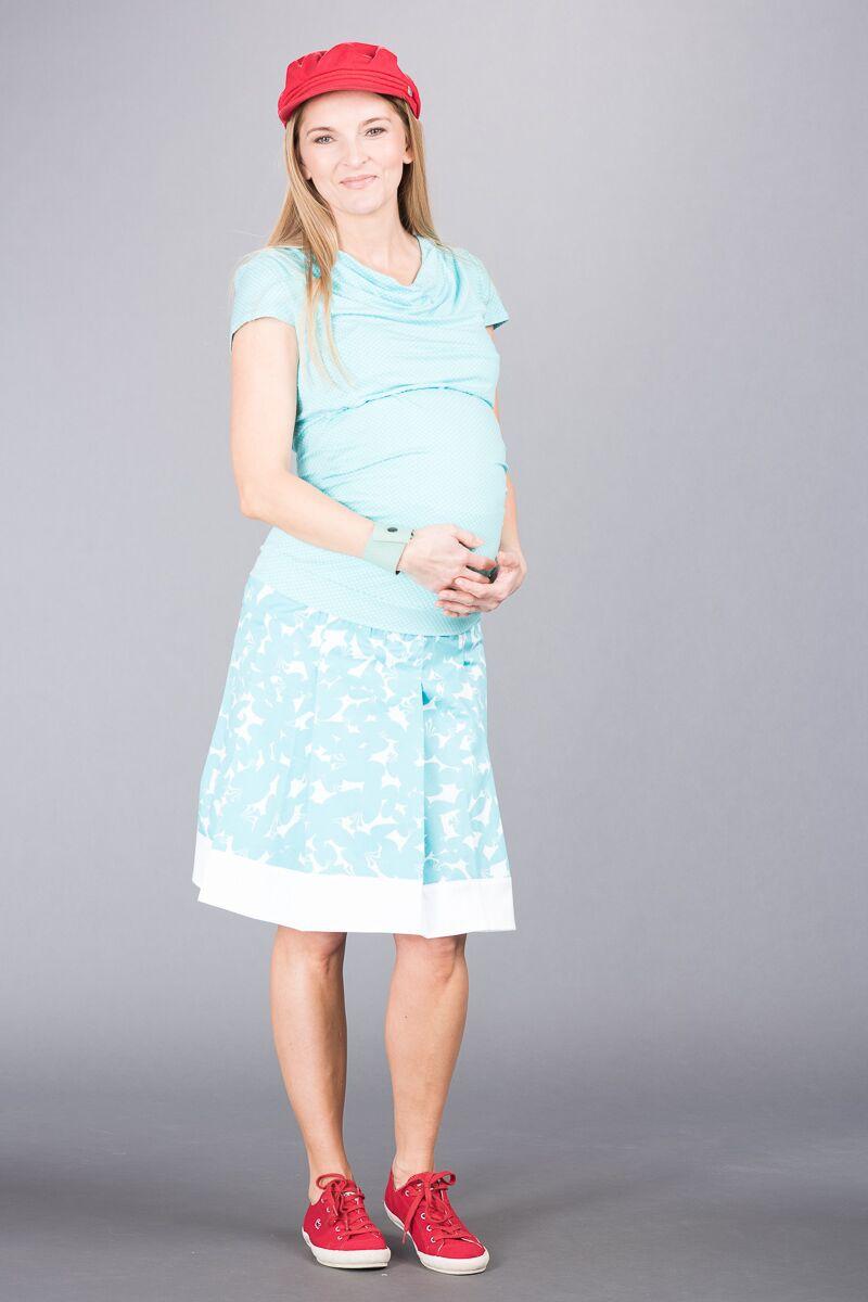 Těhotenská sukně BEBEFIELD - Helen