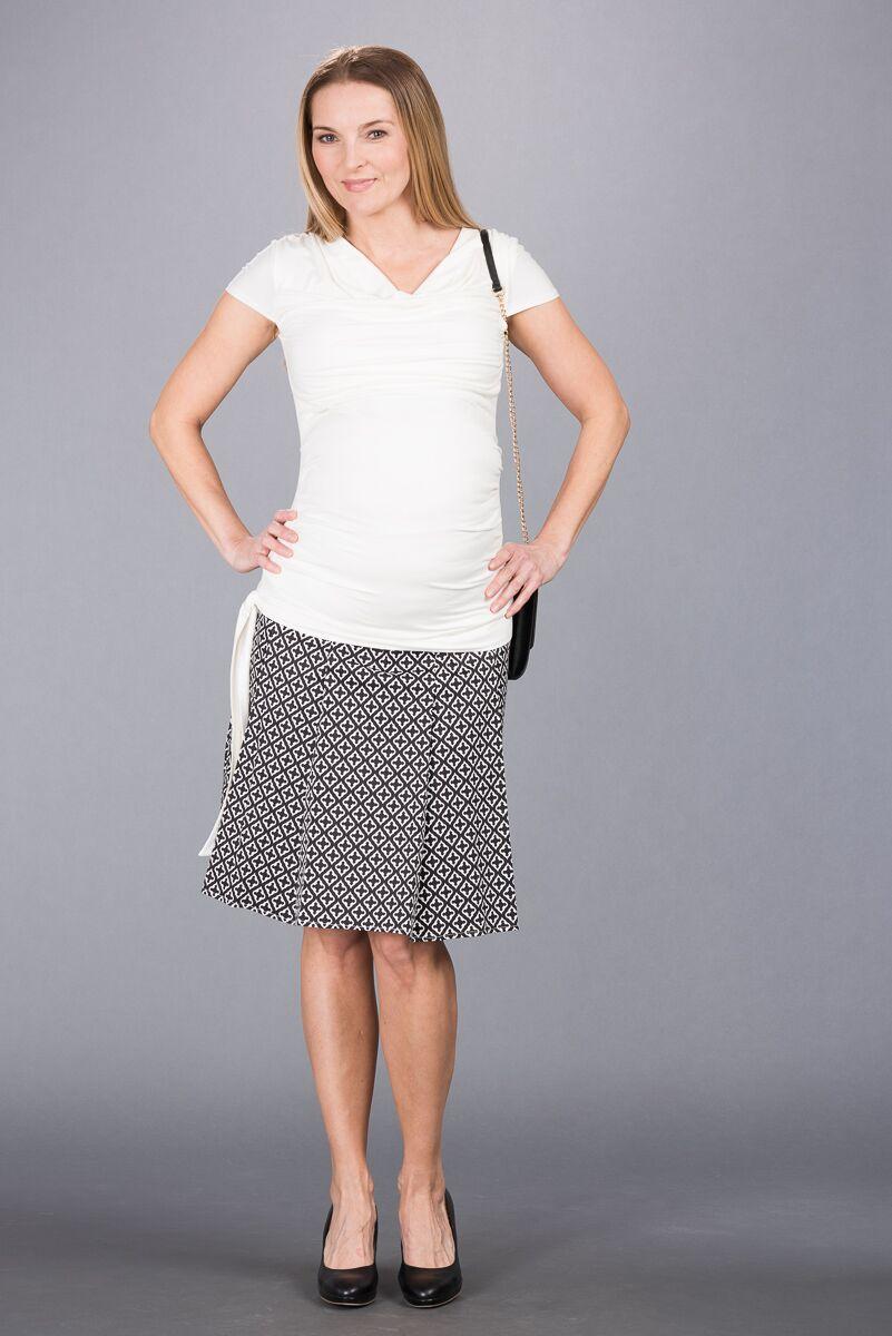 Těhotenská sukně BEBEFIELD - Hilary