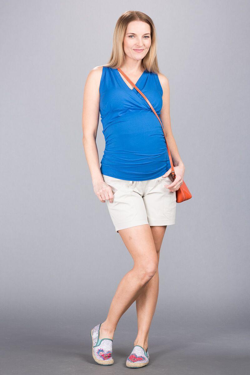 Těhotenské kalhoty BEBEFIELD - Abbie Stone