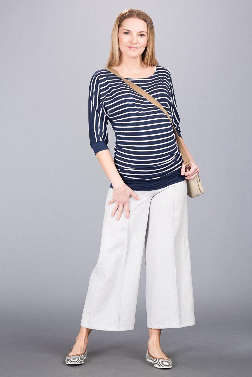 Těhotenské kalhoty BEBEFIELD - Bruno
