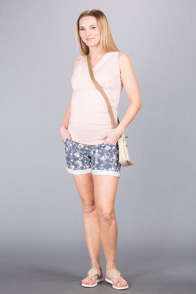 Těhotenské kalhoty BEBEFIELD - Francine Jeans