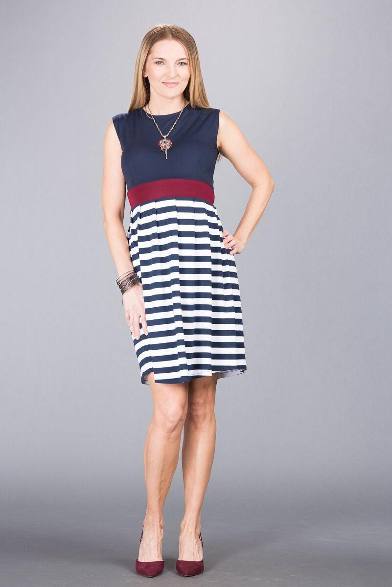 Těhotenské šaty BEBEFIELD - Ana