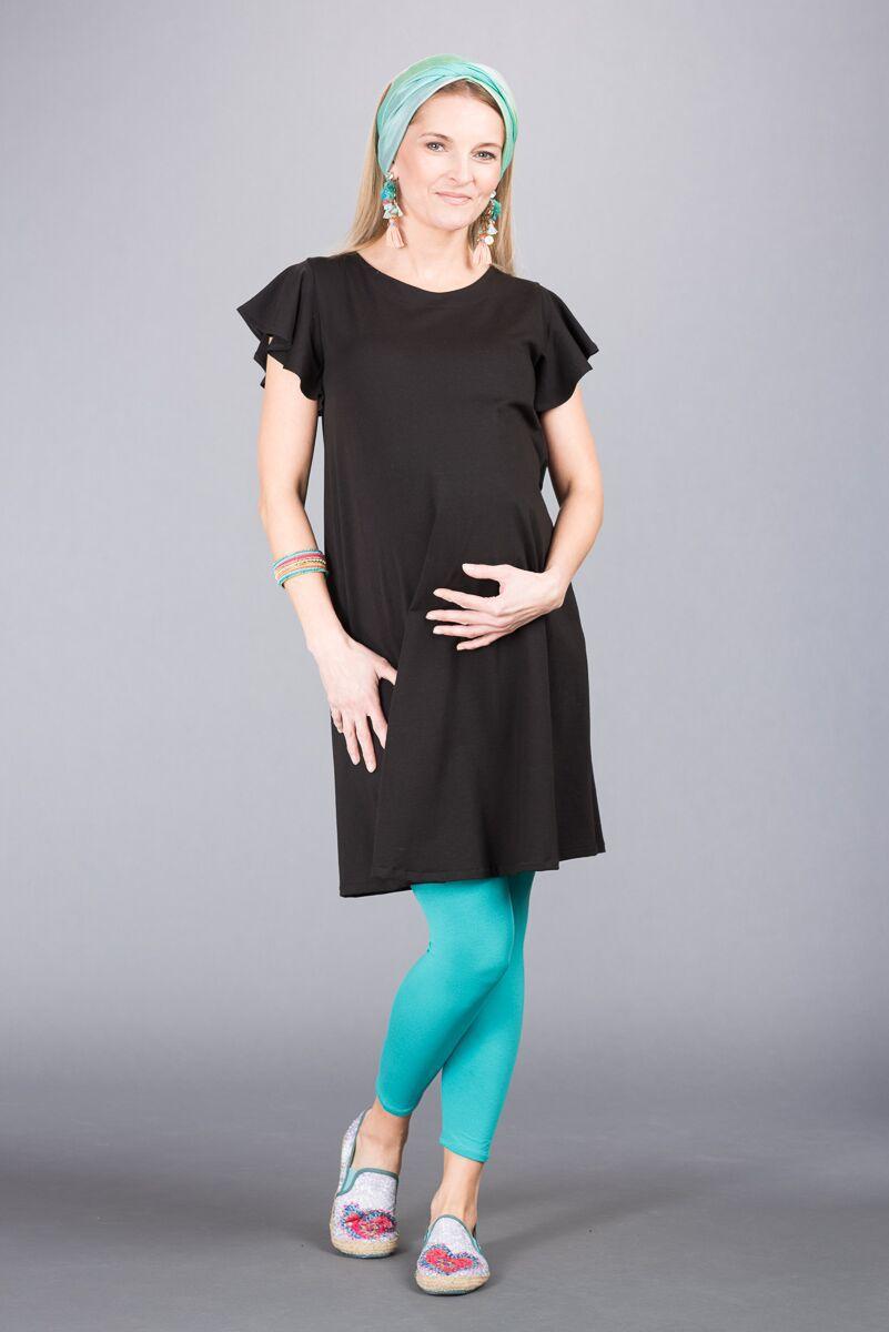 Těhotenské šaty BEBEFIELD - Frida Black