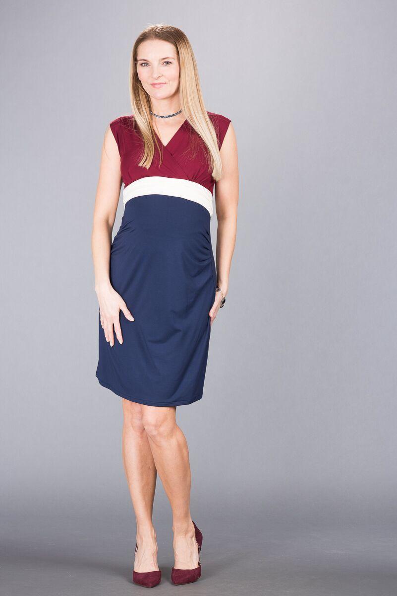Těhotenské šaty BEBEFIELD - Giulia Claret