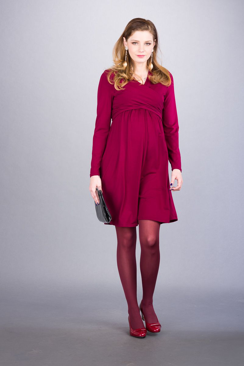 Těhotenské šaty BEBEFIELD - Julianna Claret