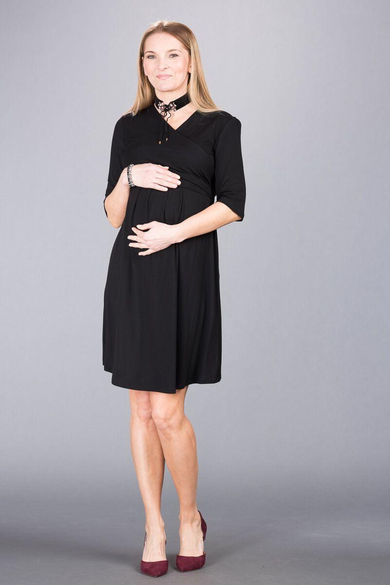 Těhotenské šaty BEBEFIELD - Leia