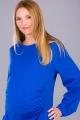 Těhotenské šaty BEBEFIELD - Madalena Cobalt