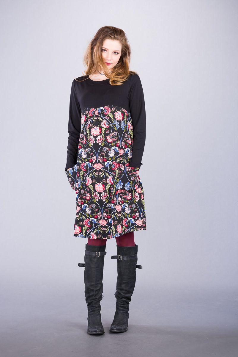Těhotenské šaty BEBEFIELD - Nicoletta