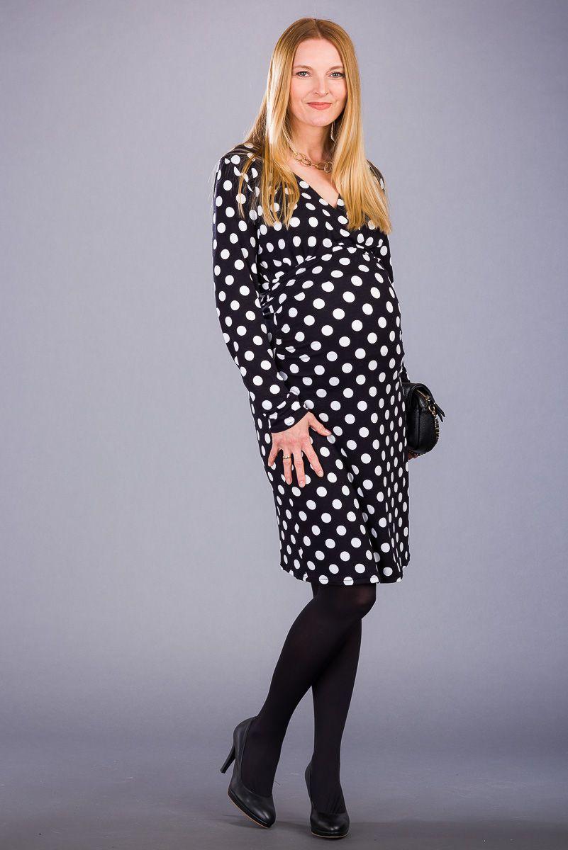 Těhotenské šaty BEBEFIELD - Olena