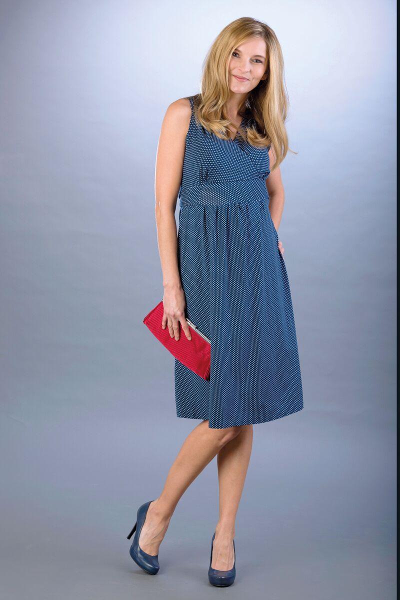 Těhotenské šaty BEBEFIELD - Rachel Dots