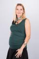 Těhotenská halenka BEBEFIELD - Bonnie Pine