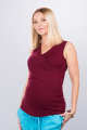 Těhotenská halenka BEBEFIELD - Daryl Claret