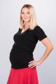 Těhotenská halenka BEBEFIELD - Felice Black