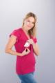 Těhotenská halenka BEBEFIELD - Ivana