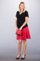 Těhotenská sukně BEBEFIELD - Grace Red