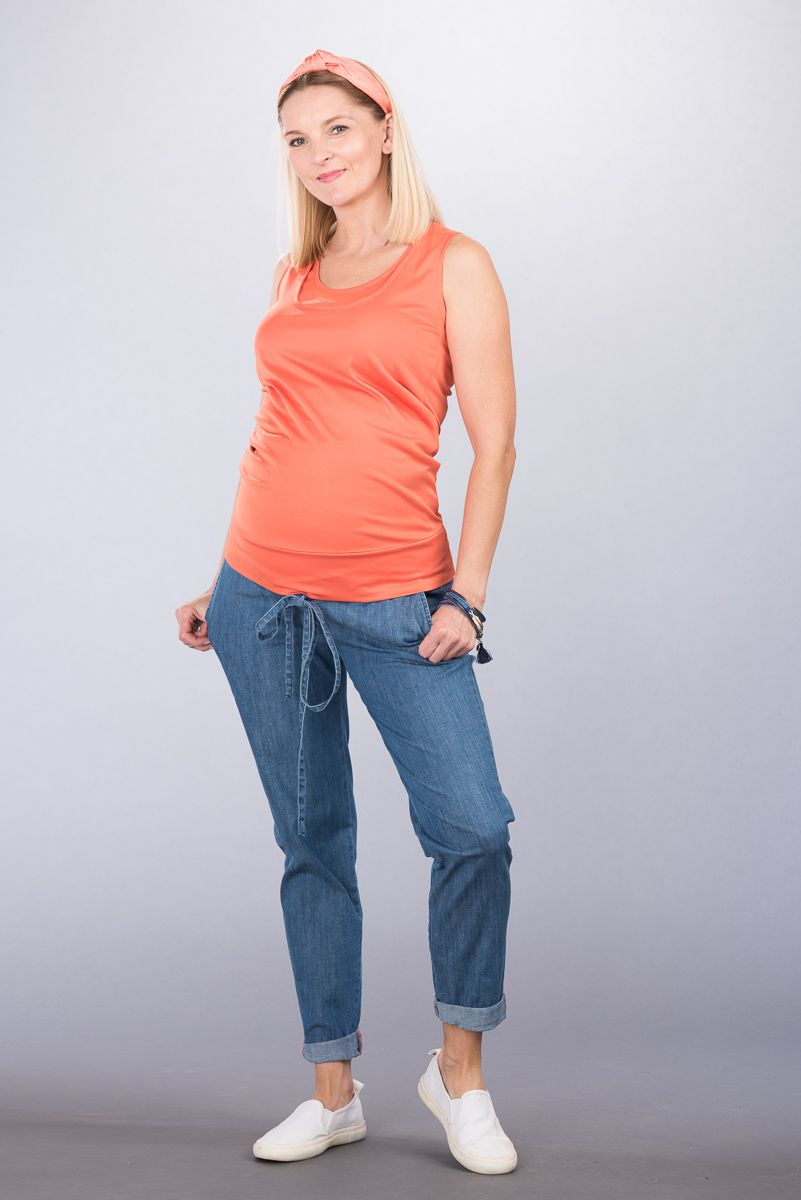 Těhotenské kalhoty BEBEFIELD - Sevilla Jeans