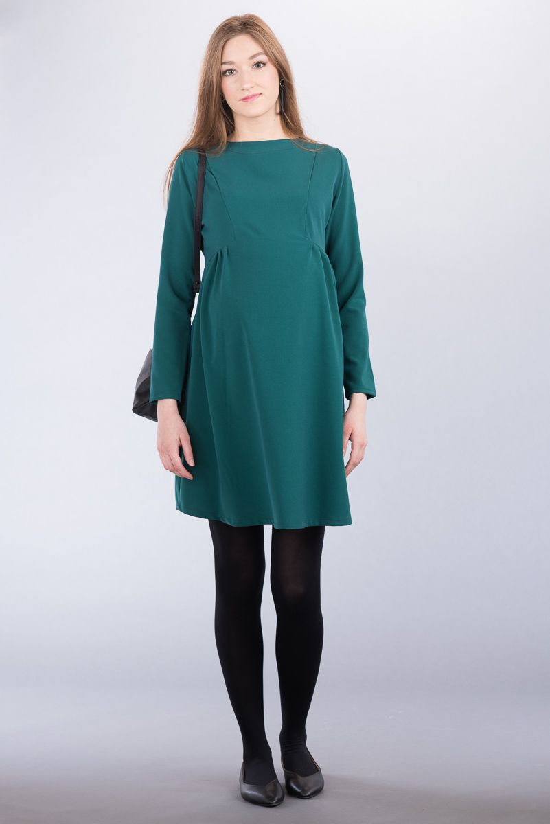 Těhotenské šaty BEBEFIELD - Ava Green