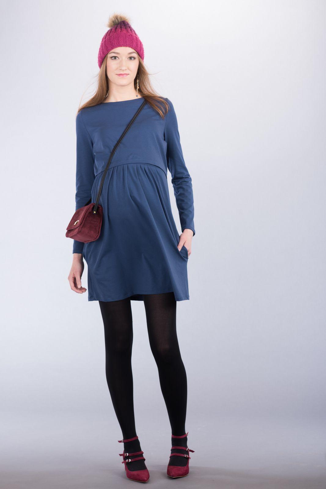 Těhotenské šaty BEBEFIELD - Cora Jeans