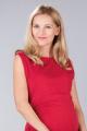 Těhotenské šaty BEBEFIELD - Gloria Red