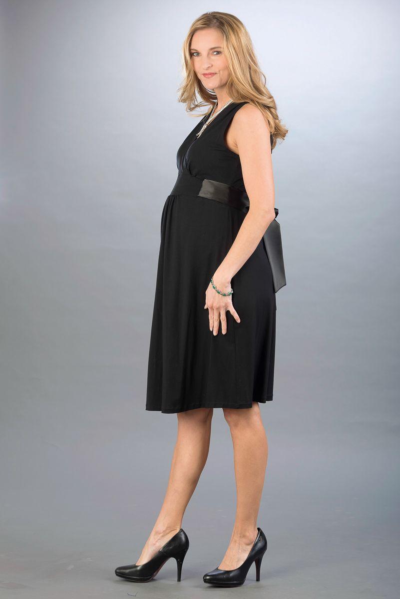 Těhotenské šaty BEBEFIELD - Lauren Black