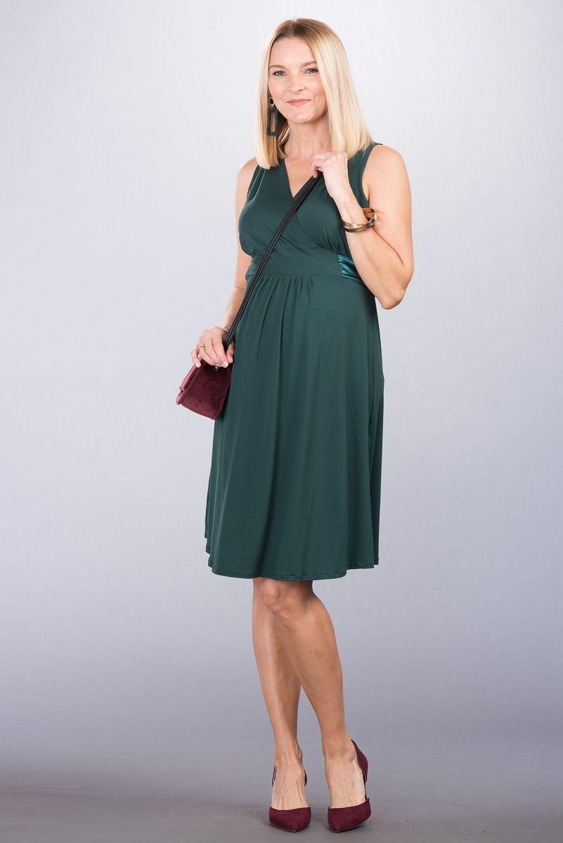 Těhotenské šaty BEBEFIELD - Lauren Pine